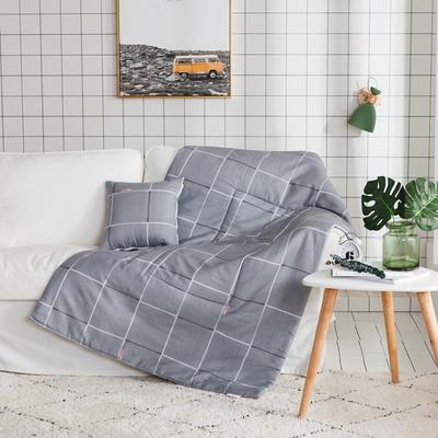 2018全棉抱枕被 50X50cm 乐章灰