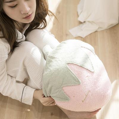 软绵绵抱枕毯 110*160cm 草莓小姐