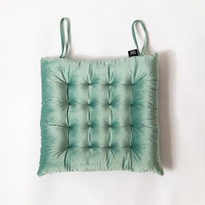 意大利绒坐垫 45x45cm 奢华绿