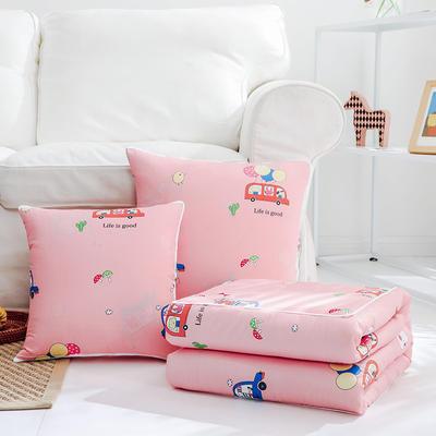 2020上新-优舒绒抱枕被 40X40cm 宝宝巴士
