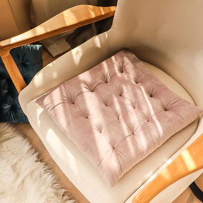 轻奢风方型坐垫 40X40cm 浅紫