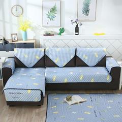 2018新款北欧简约沙发垫 70*150cm 菠萝和仙人掌