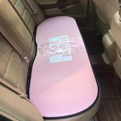 2018新款冰丝汽车坐垫后排 50*130cm 粉红豹
