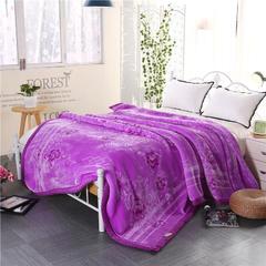 那朵印象云毯系列 包装15元/个 那朵 紫色
