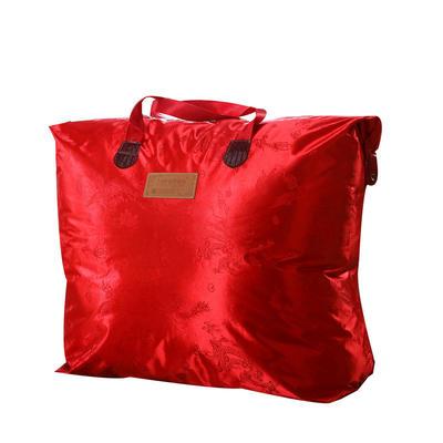 加厚双层双人拉舍尔婚庆大红双喜毛毯珊瑚绒法兰绒毯盖毯子11斤 200cmx230cm 包装