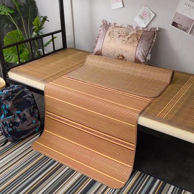 2019新款竹席凉席单人学生宿舍上铺下铺竹凉席子0.9米1.0上下床1.2折叠席 枕套(45×72cm)/个 芊芊诗意
