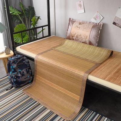 2019新款竹席凉席单人学生宿舍上铺下铺竹凉席子0.9米1.0上下床1.2折叠席 枕套(45×72cm)/个 盛夏光年