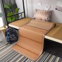 2019新款竹席凉席单人学生宿舍上铺下铺竹凉席子0.9米1.0上下床1.2折叠席 枕套(45×72cm)/个 清凉一夏