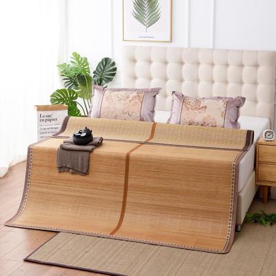 夏季床上凉席竹双面竹席凉席1.8家用床席夏席子1.5m床2x2.2米双人 冰丝枕套45×72/对 水木年华