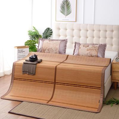 夏季床上凉席竹双面竹席凉席1.8家用床席夏席子1.5m床2x2.2米双人 冰丝枕套45×72/对 清凉一夏
