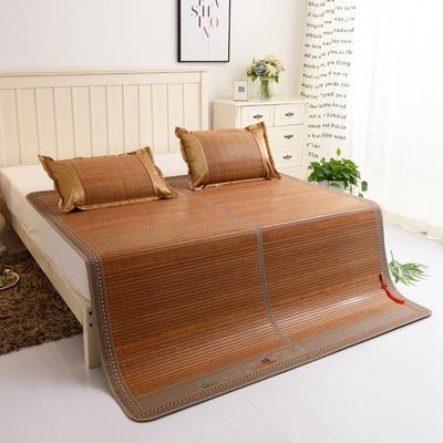 夏季床上凉席竹双面竹席凉席1.8家用床席夏席子1.5m床2x2.2米双人 80×185cm(大边) 大好河山