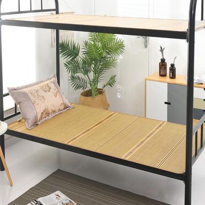 2020新款学生竹席凉席寝室宿舍单人床草席夏季冰丝席子 120×190cm 盛夏光年