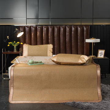 标题 藤席1.8m床凉席冰丝双面正反冬夏两用折叠1.5米1.2席子夏季竹席