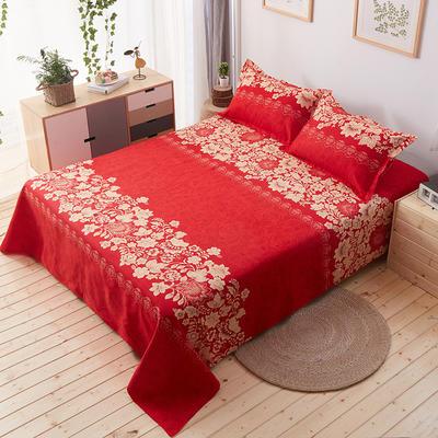 单品床单 枕套48*74cm/对 红色之恋