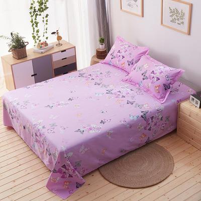 单品床单 枕套48*74cm/对 蝴蝶纷飞