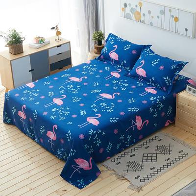 单品床单 枕套48*74cm/对 火烈鸟