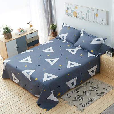 单品床单 枕套48*74cm/对 几何