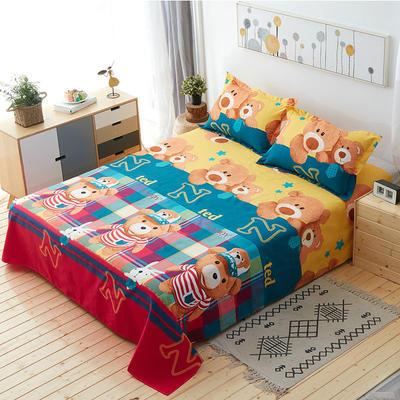 单品床单 枕套48*74cm/对 泰迪熊