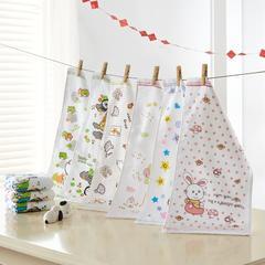 毛巾童巾系列 纱布印花童巾(25*25)