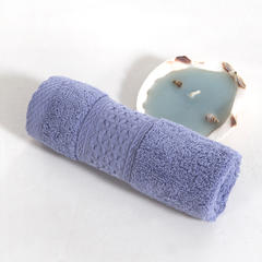 毛巾方巾系列 极简风尚方巾 浅紫色