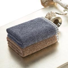 毛巾方巾系列 岛国风情方巾 咖啡色