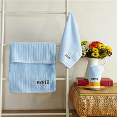 毛巾套巾 套巾系列 埃菲套巾(套巾30元) 蓝色(70*140)