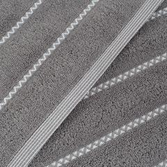 毛巾套巾 套巾系列 波浪纹套巾(套巾42元) 灰色