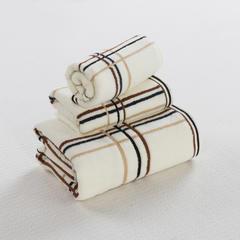 毛巾套巾 套巾系列 简约格调套巾(套巾44元) 白色(35*74)