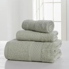 毛巾套巾 套巾系列 极简风尚套巾(套巾31元) 浅绿色