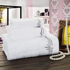 毛巾套巾 套巾系列 宾馆铂金段套巾(套巾61.5元) 套巾主图