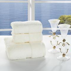 毛巾套巾 套巾系列 长绒棉套巾(套巾56元) 奶油黄