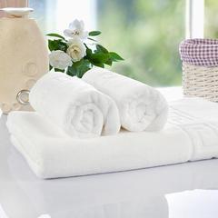 毛巾套巾 套巾系列 宾馆白套巾(套巾49元) 白色(35*76)