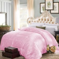 提花蚕丝被 200X230cm-6斤 粉色