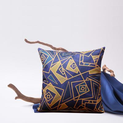 2019新款-亚麻抱枕靠垫新花色支持小批量定制欢迎选购 43*43cm 单靠垫套 情迷毕加索