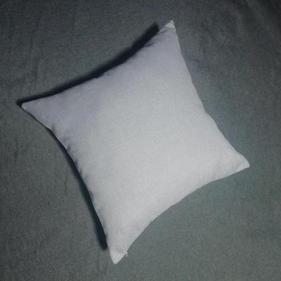 2020新款-純色純色加厚棉麻靠墊抱枕(1) 35*55含芯 米灰