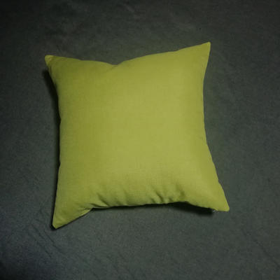 2020新款-純色純色加厚棉麻靠墊抱枕(2) 55*55含芯 草玉