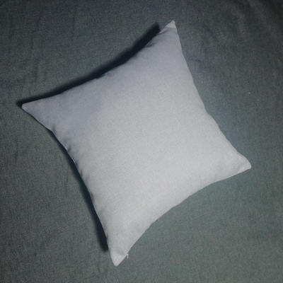 2020新款-純色純色加厚棉麻靠墊抱枕(2) 55*55含芯 米灰