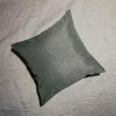 2020新款-純色純色加厚棉麻靠墊抱枕(2) 55*55含芯 深灰