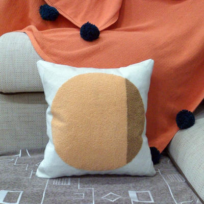 2020新品-復合毛巾繡抱枕靠墊 45*45cm不含芯 Miya