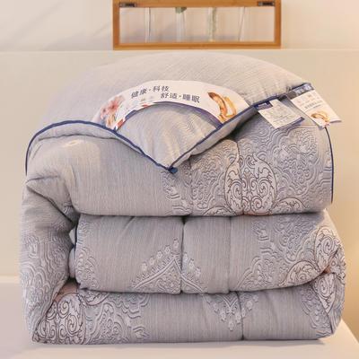 2020新款羽丝棉印花冬被被子被芯 150x200cm(4斤) 盛世古典