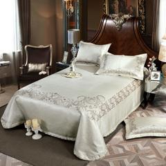 凉席系列 可水洗床单系列 250*250cm(三件套) 丽娜-银