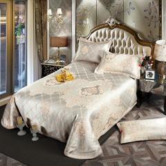 凉席系列 可水洗床单系列 250*250cm(三件套) 爱丁堡-金