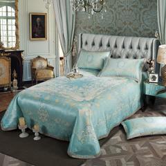 凉席系列 可水洗床单系列 250*250cm(三件套) 吉娜-蓝