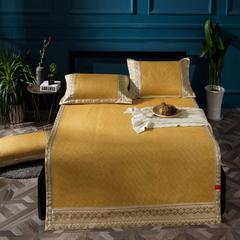凉席系列 水洗凉席 印尼藤席系列 1.5m(5英尺)床 印尼席-黄咖