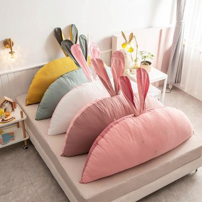 2020新款全棉水洗棉兔耳朵系列大靠枕(可拆卸) 1.2m(含芯) 12组合