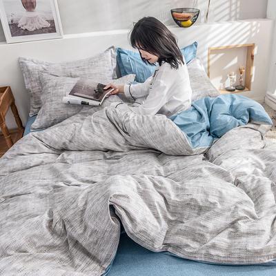 2019新款13372全棉印花后现代系列 床单款三件套1.2m床 风尚之约