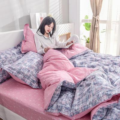 2019新款13372全棉印花后现代系列 床单款三件套1.2m床 西西里