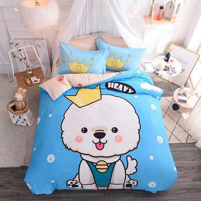 【总】大版卡通萌潮四件套 1.5m(5英尺)床 小淘气