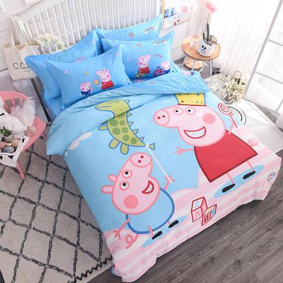 【总】大版卡通萌潮四件套 1.5m(5英尺)床 快乐假期