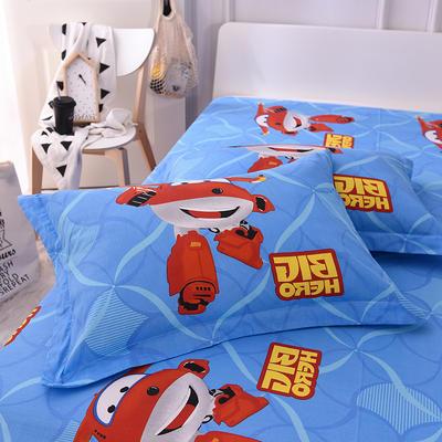 2019新款全棉大版单品枕套/个 48cmX74cm 超级飞侠